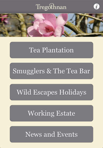 Tregothnan needed an app to provide information about their estate and produce.